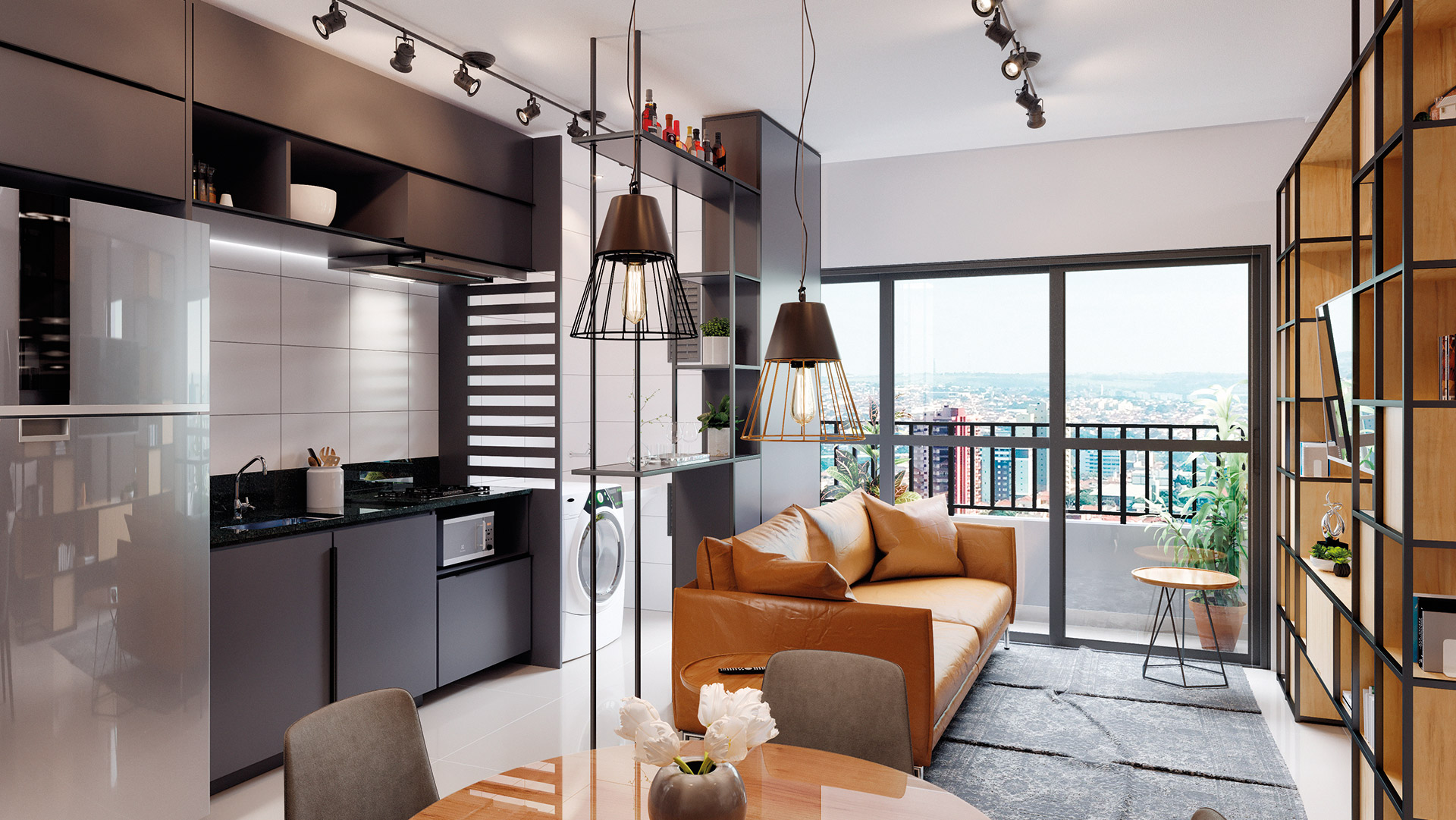 Apartamento de 1Q - 45m² *