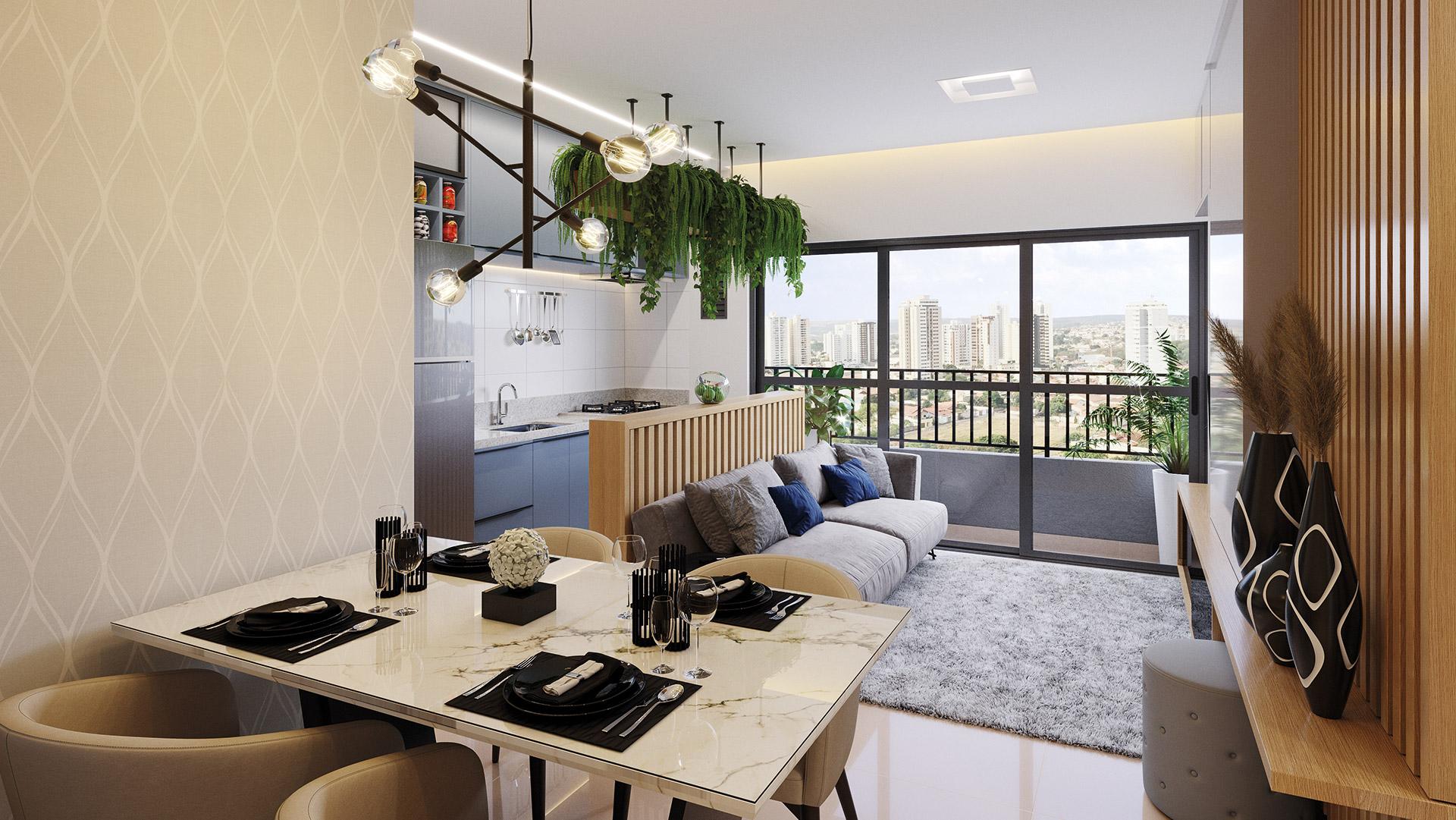 Apartamento de 2Q - 67m² *