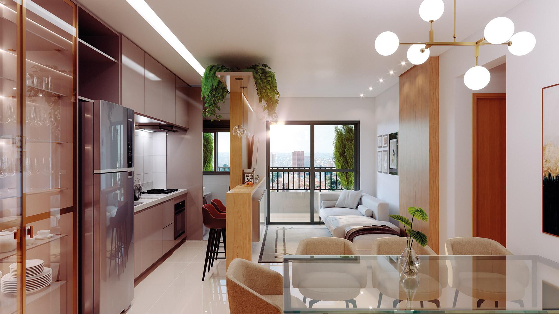 Apartamento de 3Q - 85m² *