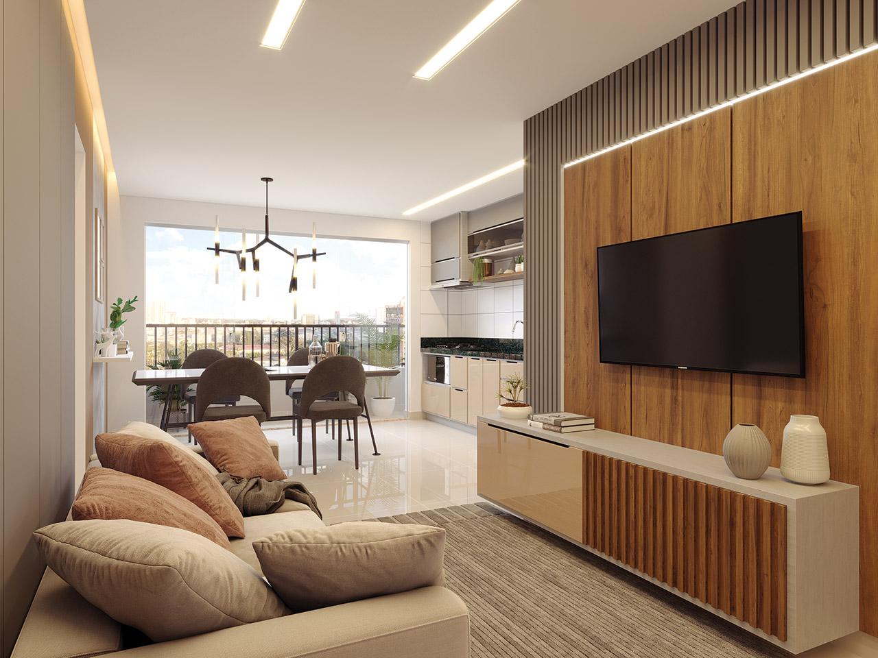 Sala apartamento 2Q – 68m² - FINAL 03