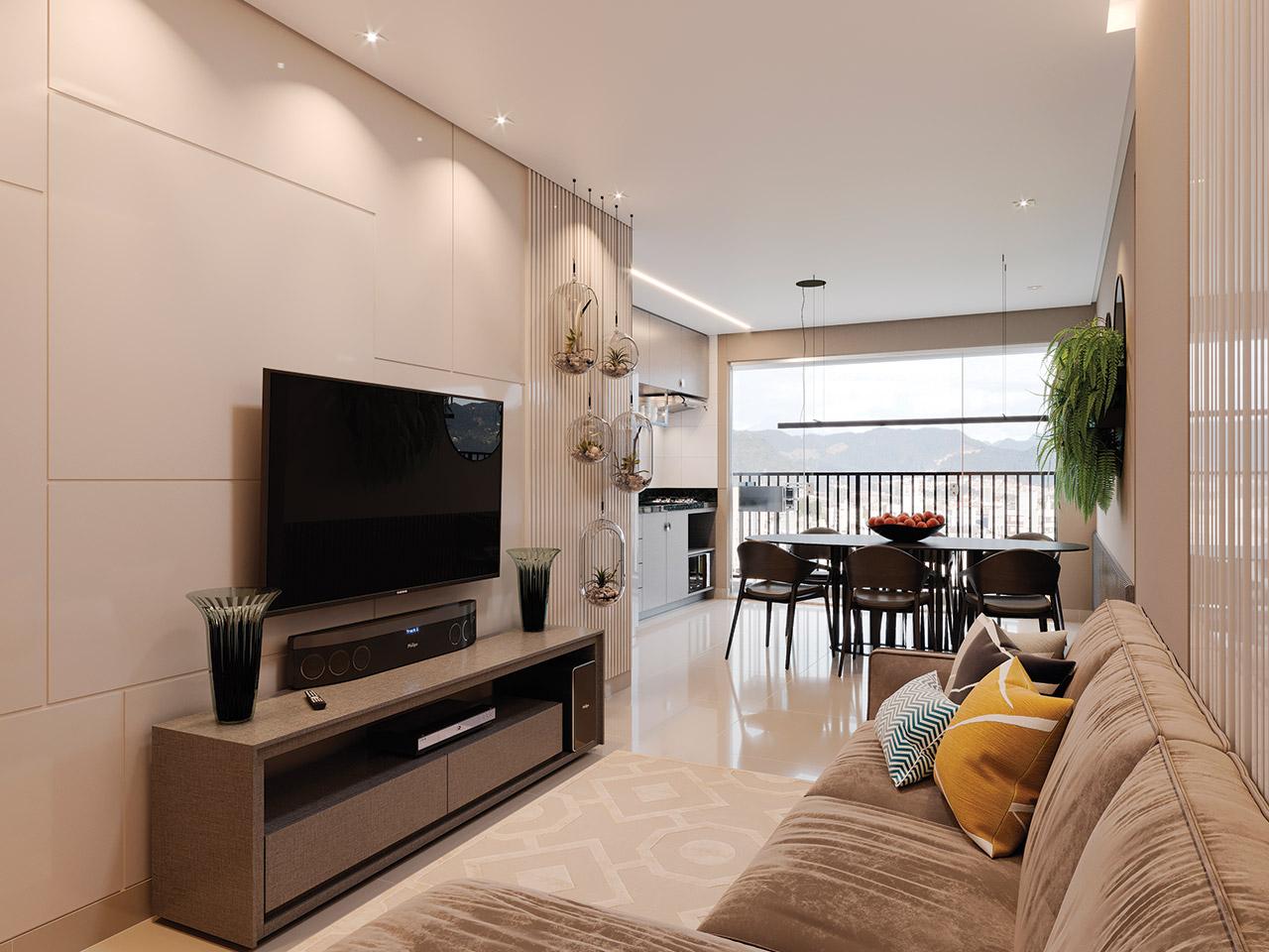 Sala apartamento 2Q – 71m² - FINAL 05