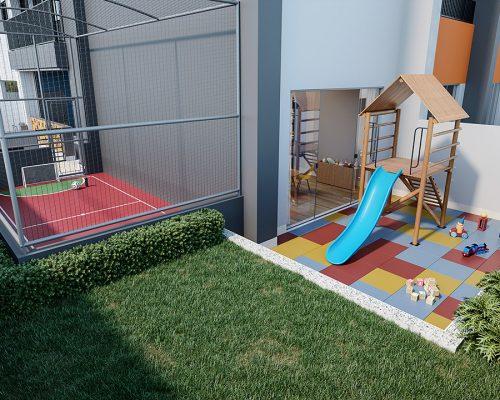 Playground + quadra